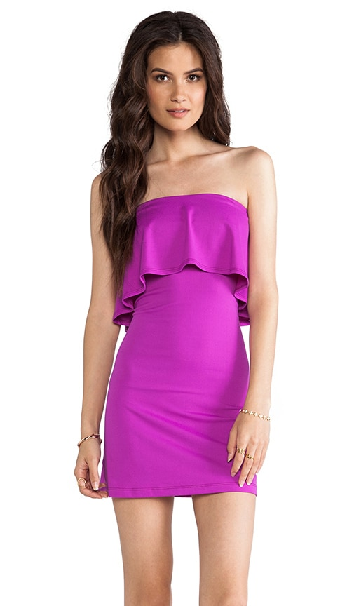 Sansa Ruffle Top Strapless Dress