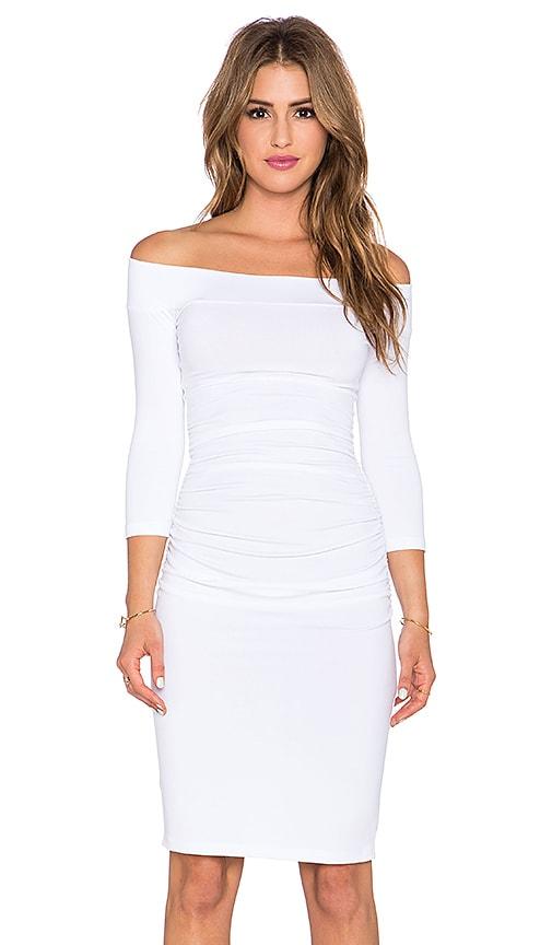 Susana Monaco Lydia Dress in White