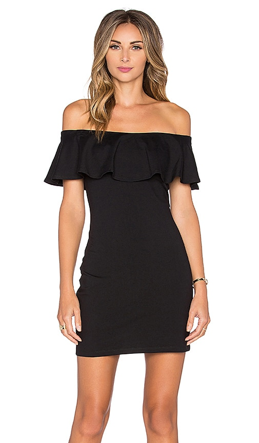 Susana Monaco Hannah Dress in Black