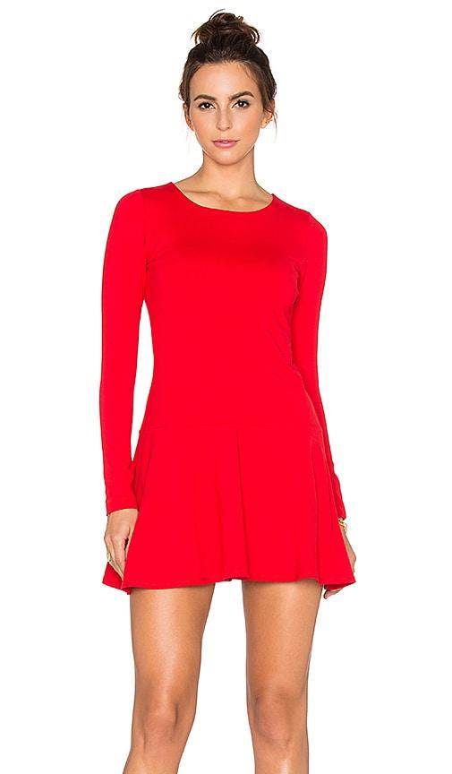 Susana Monaco Pixie Dress in Red
