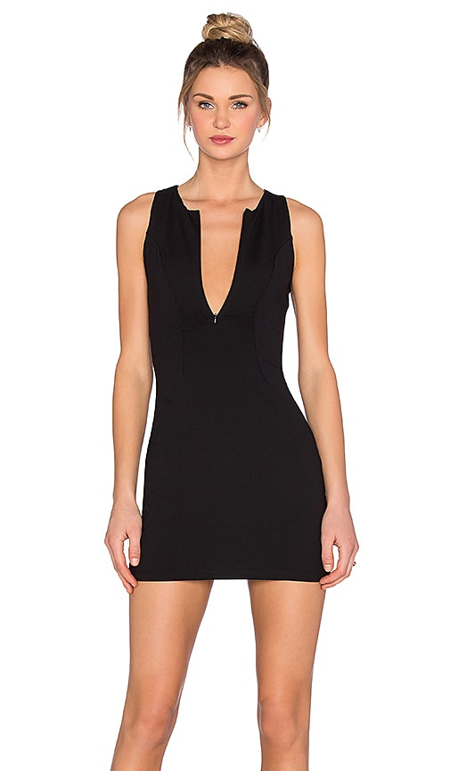 Susana Monaco Scuba Dress in Black