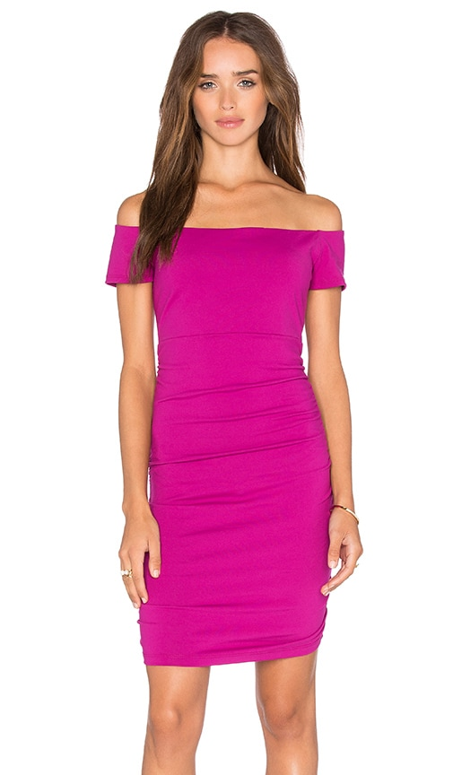 Susana Monaco Jona Dress in Fuchsia
