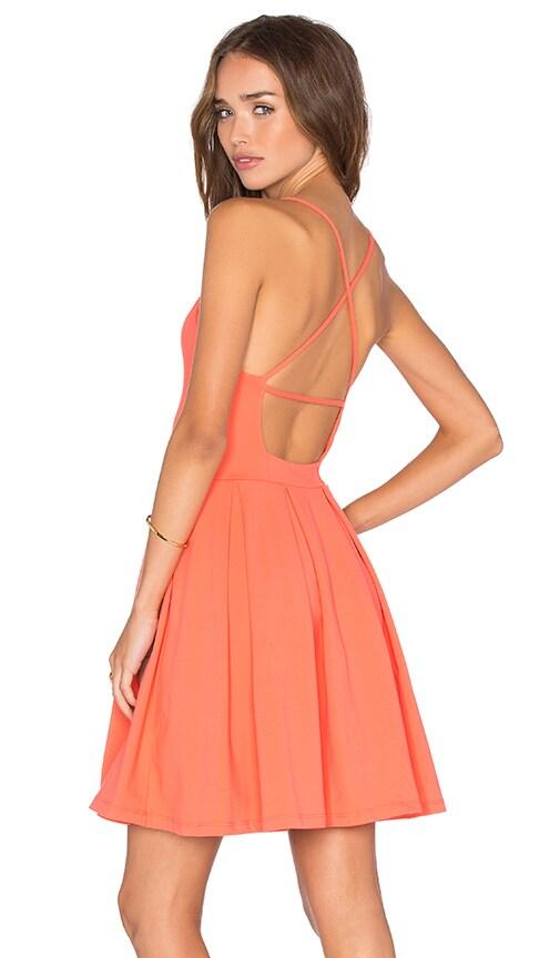 Susana Monaco Gigi Dress in Coral