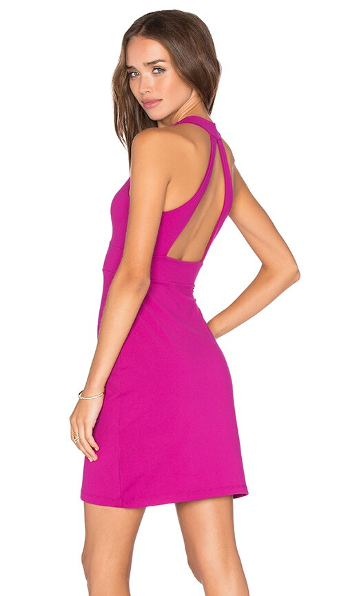 Susana Monaco Gia Dress in Fuchsia