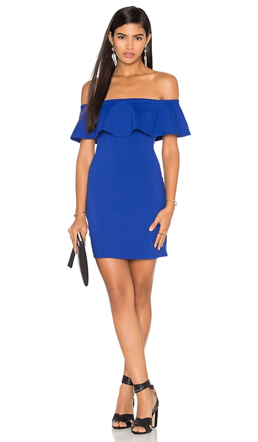 Susana Monaco Hannah Dress in Blue