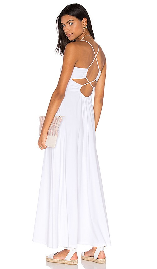 Susana Monaco Phaedra Maxi Dress in White