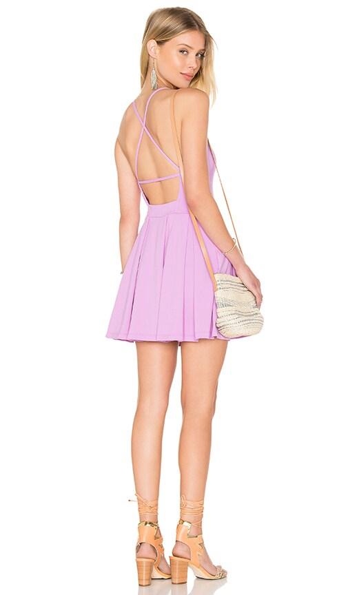 Susana Monaco Gigi Dress in Violet