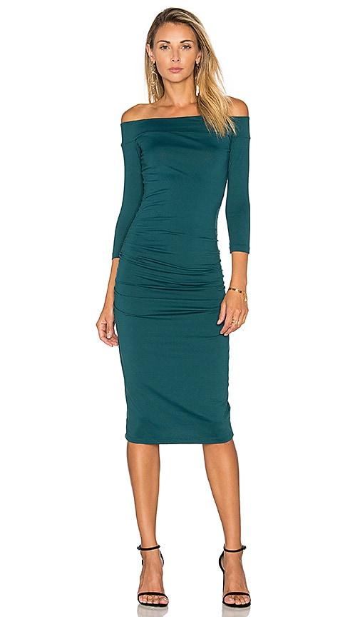 Susana Monaco Lydia Dress in Green