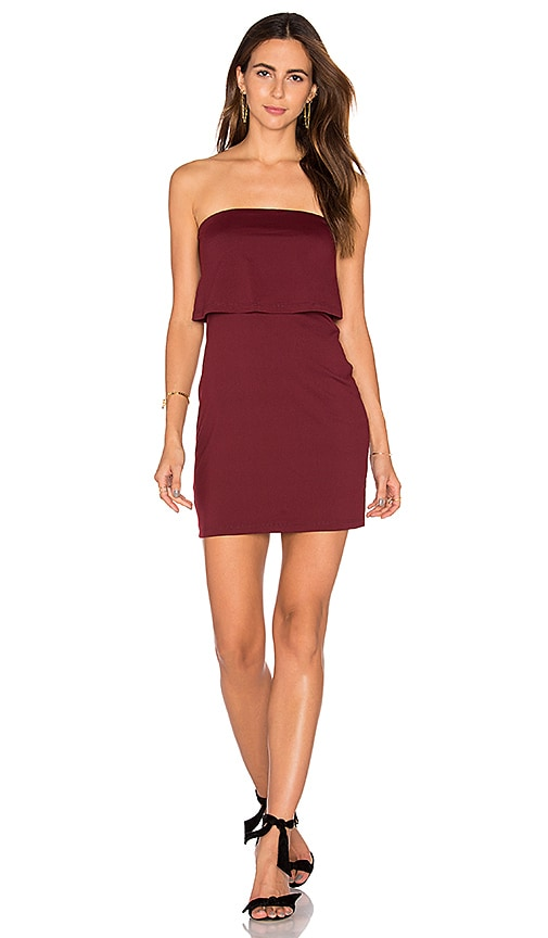 Susana Monaco Meredith Dress in Burgundy