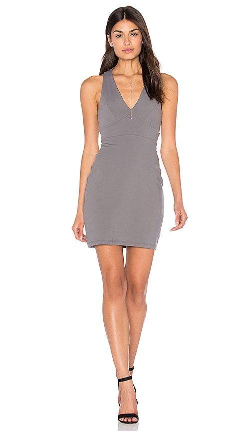 Susana Monaco Gia Dress in Gray