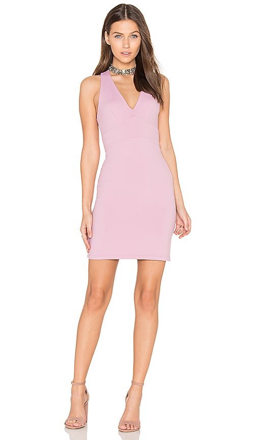 Susana Monaco Gia Mini Dress in Pink