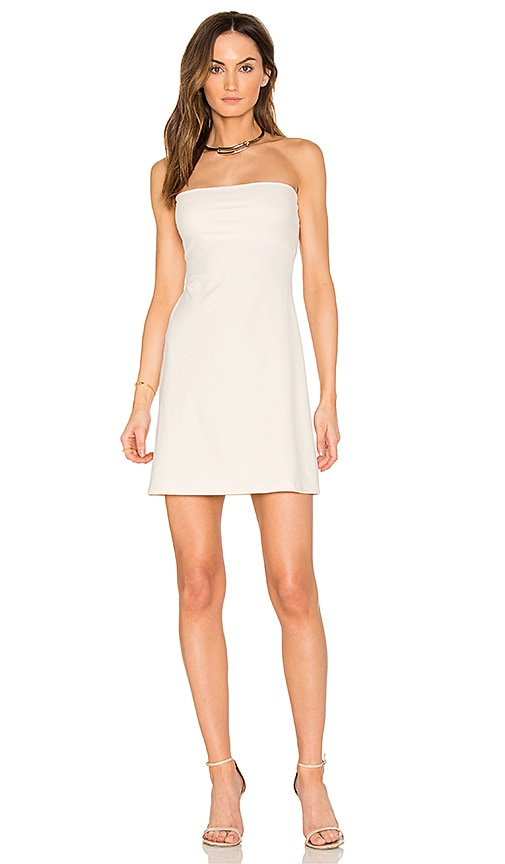 Susana Monaco Tube Dress in Ivory