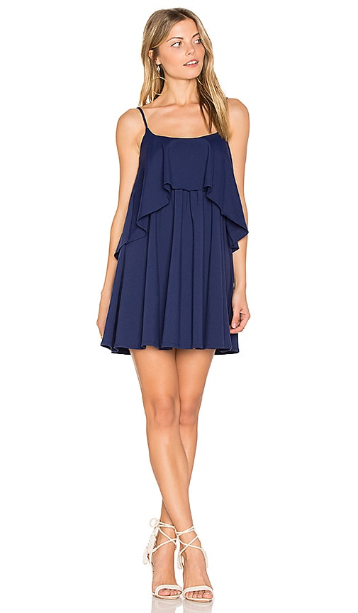 Susana Monaco Mini Dara Dress in Navy