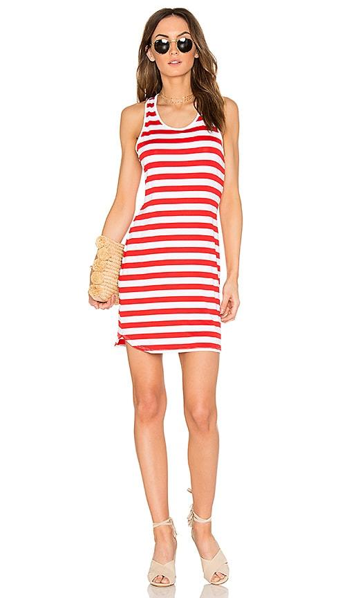 Susana Monaco Racer Dress in Red