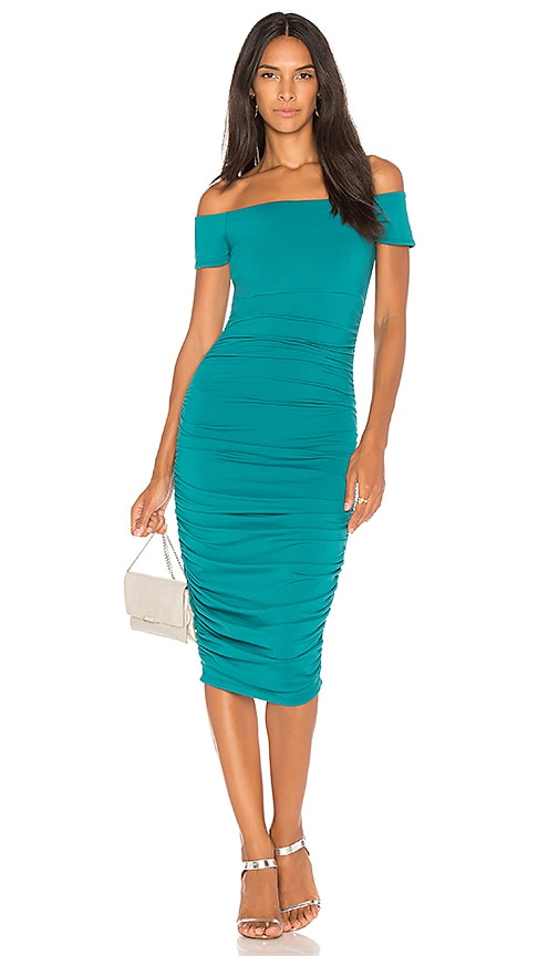 Susana Monaco Ljonas Ruched Midi Dress 25\