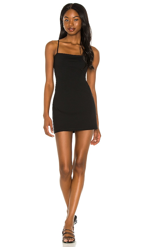 Susana Monaco Laurie Mini Dress in Black