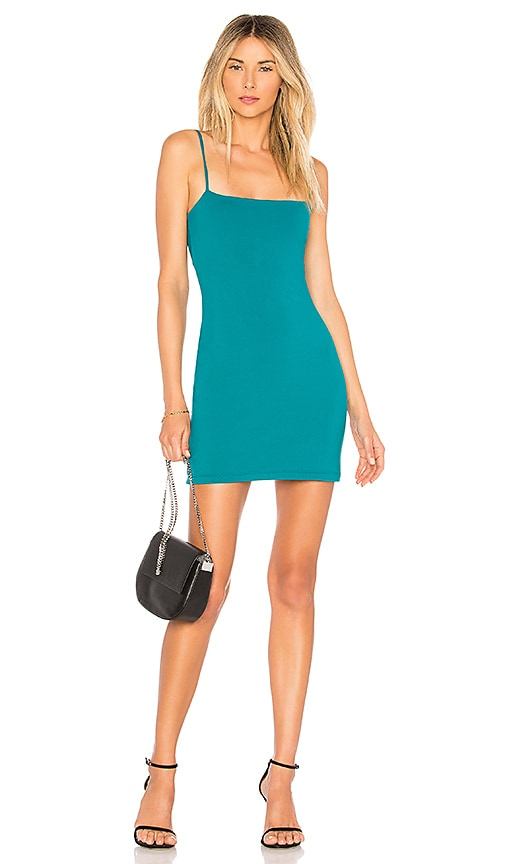 Susana Monaco Laurie Mini Dress in Green