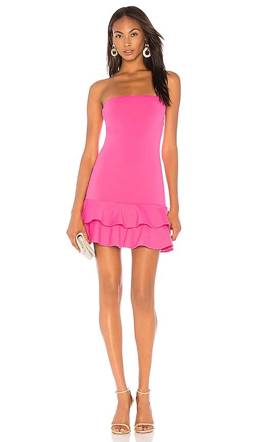 dd9e52e13224 Strapless Ruffle Dress. Strapless Ruffle Dress. Susana Monaco