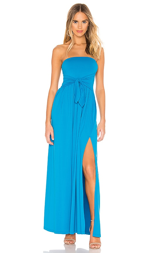 Tie Front Strapless Dress by Susana Monaco
