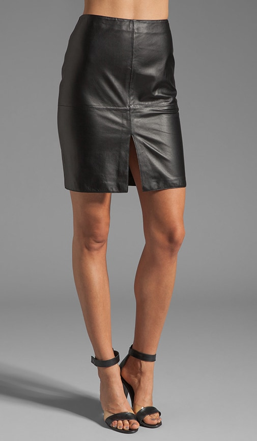 Adel Leather Skirt