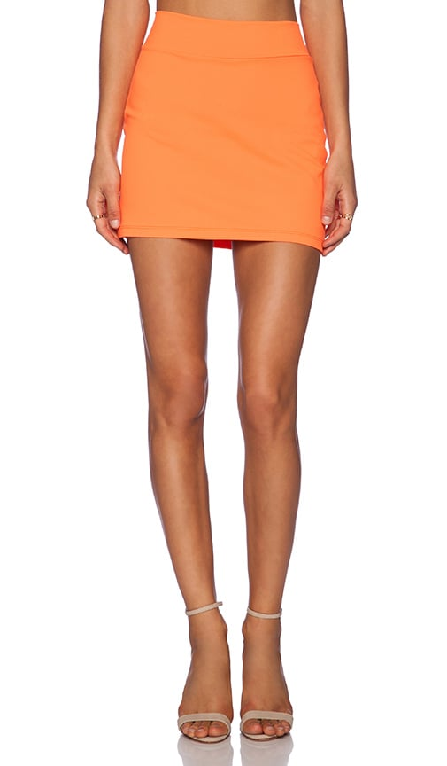 Susana Monaco Slim Skirt in Lava