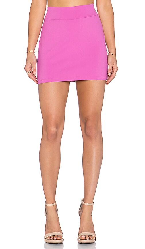Susana Monaco Slim Skirt in Bouganvillea