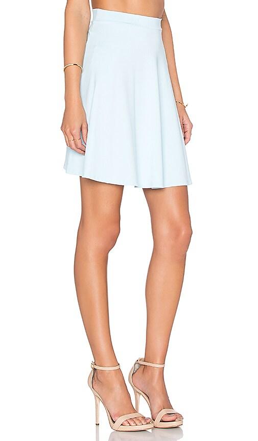 011ea106e8 85%OFF Susana Monaco High Waist Flared Skirt in Blue Grotto ...