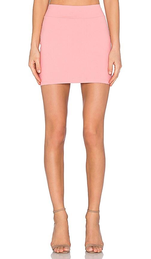 Susana Monaco Slim Skirt in Sorbet