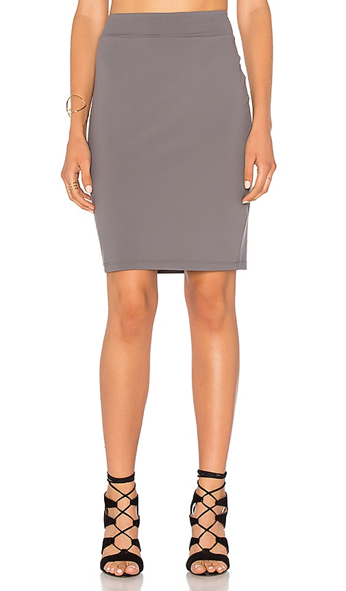 Susana Monaco Pencil Skirt in Gray