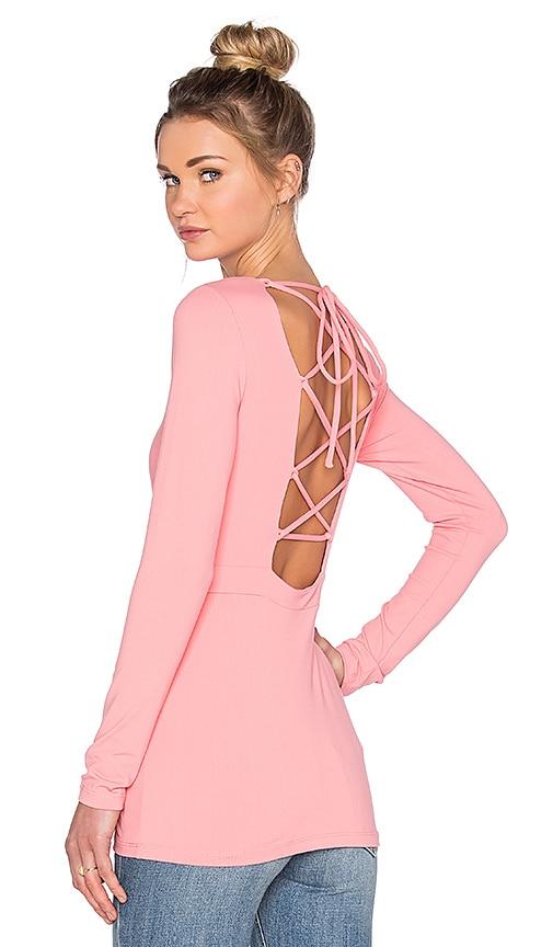 Susana Monaco Lovisa Top in Pink