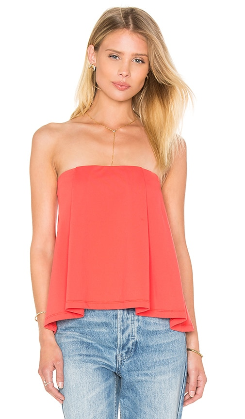 Susana Monaco Sabrina Top in Red