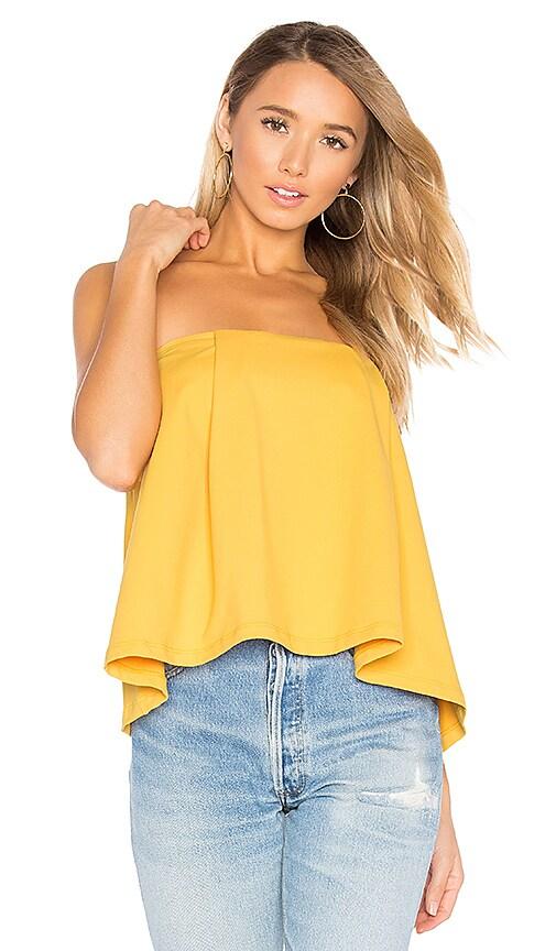 Susana Monaco Sabrina Top in Yellow