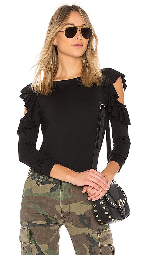 Susana Monaco Zoey Top in Black