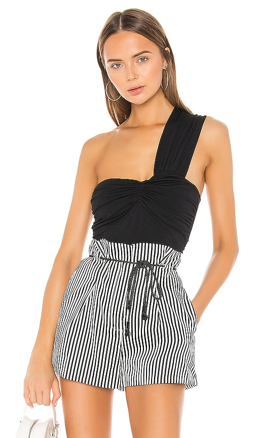 Cinched Front Ruched Top