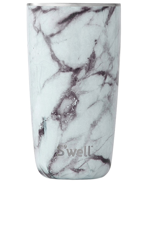 S'well 18oz Cup In White Marble