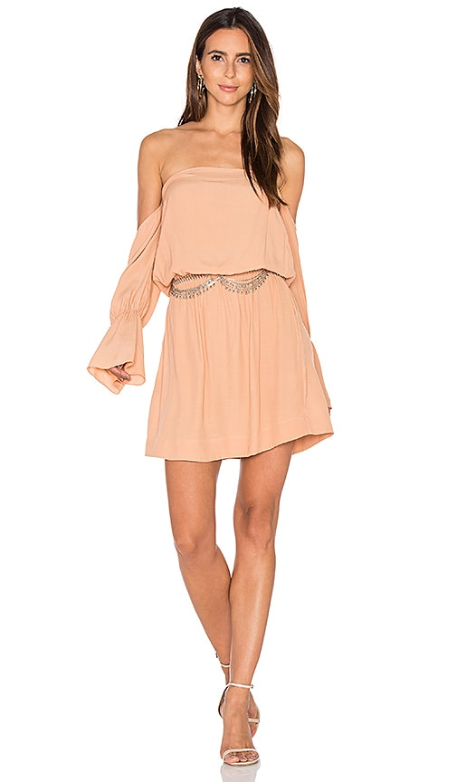 SWF May Dress in Peach