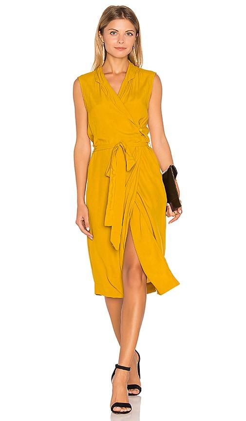 SWF Mirella Vest Dress in Mustard
