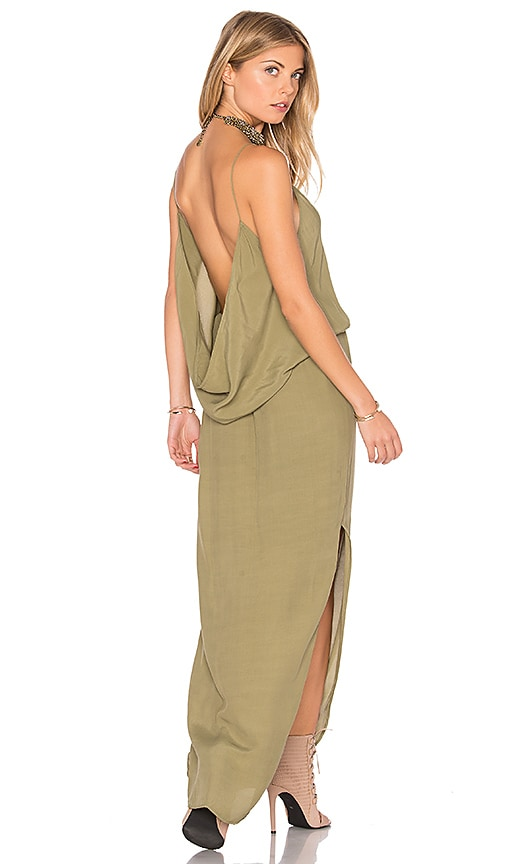 SWF Mira Maxi Dress in Green