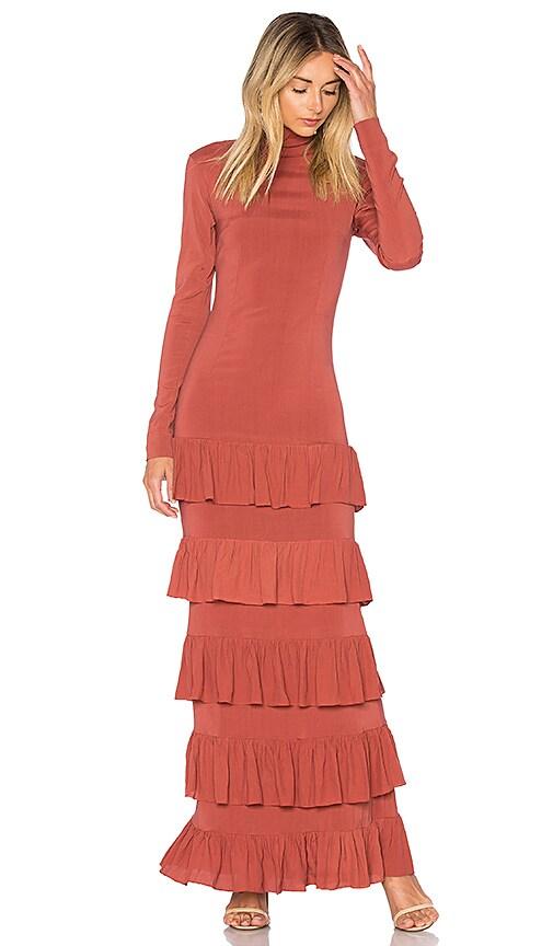 SWF Victoria Dress in Orange