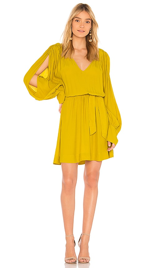 SWF Arabella Mini Dress in Mustard