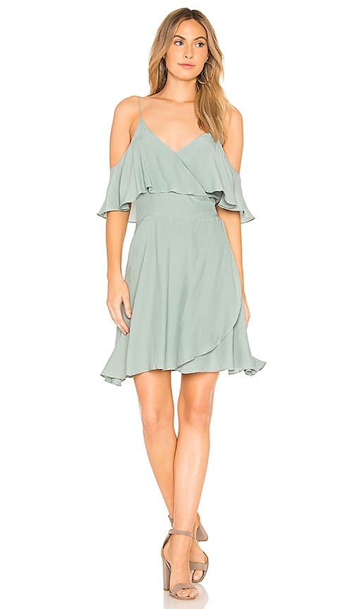 SWF Holli Wrap Dress in Sage