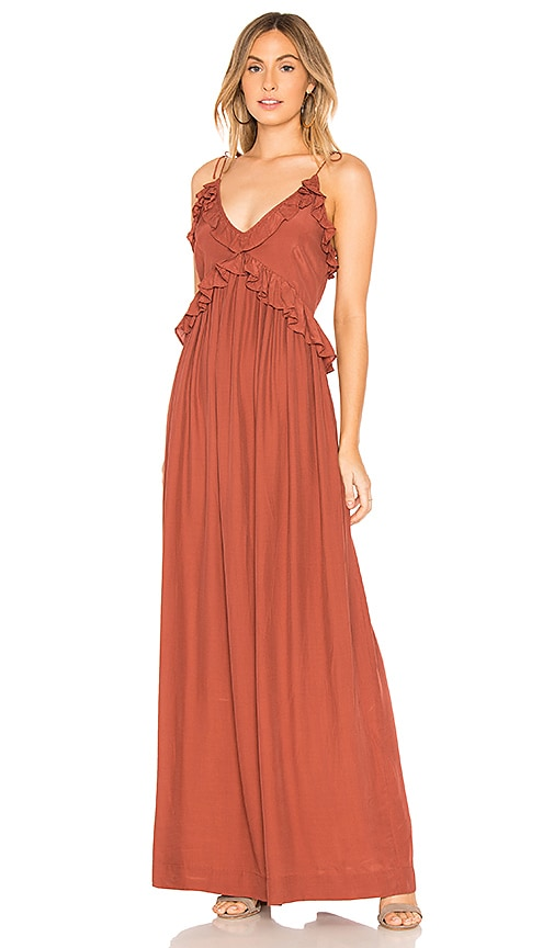 SWF Hannah Dress in Rust