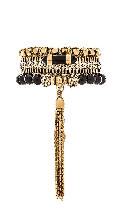 Samantha Wills Diamond's Arrow Bracelet Set in Gold
