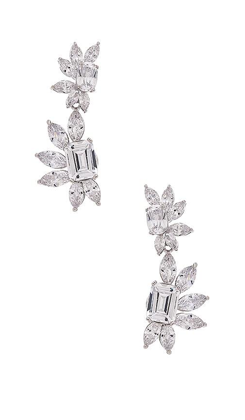 Samantha Wills Blue Moon Drop Earrings in Silver