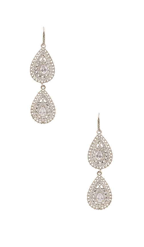 Samantha Wills Velvet Ocean Crystal Earrings in Metallic Silver