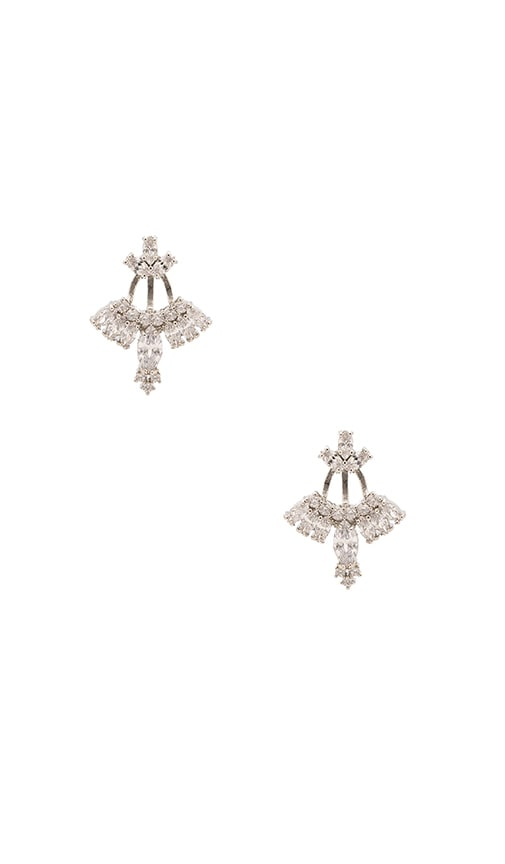 Samantha Wills Velvet Ocean Ear Jackets in Metallic Silver I3bDq