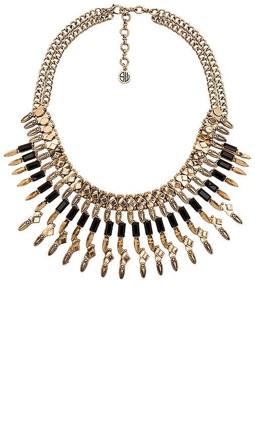 Samantha Wills Wild Fox Chain Necklace in Metallic Gold