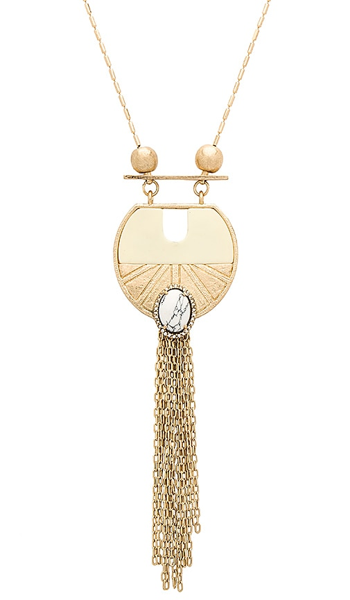 Samantha Wills Wildest Dreams Pendant Necklace in Metallic Gold