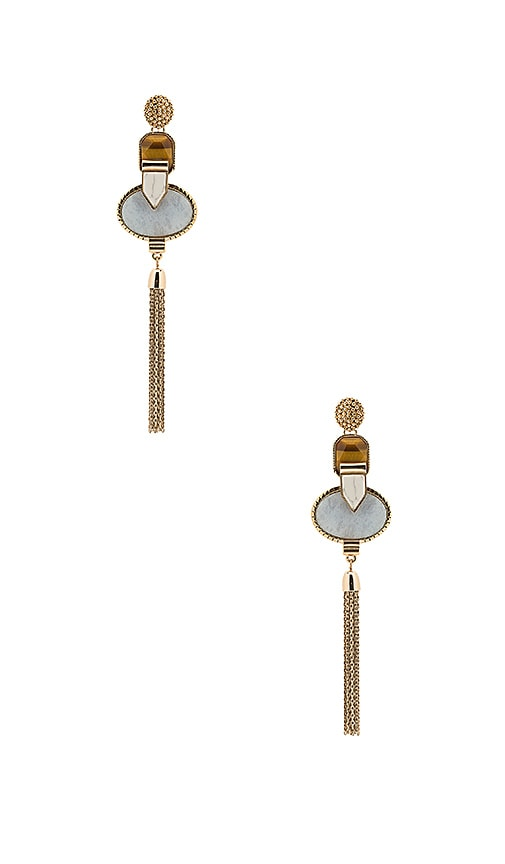 Samantha Wills Heart Wonder Drop Earrings in Metallic Gold