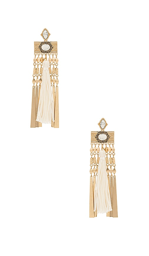 Samantha Wills Whisper Sea Grande Earrings in Metallic Gold